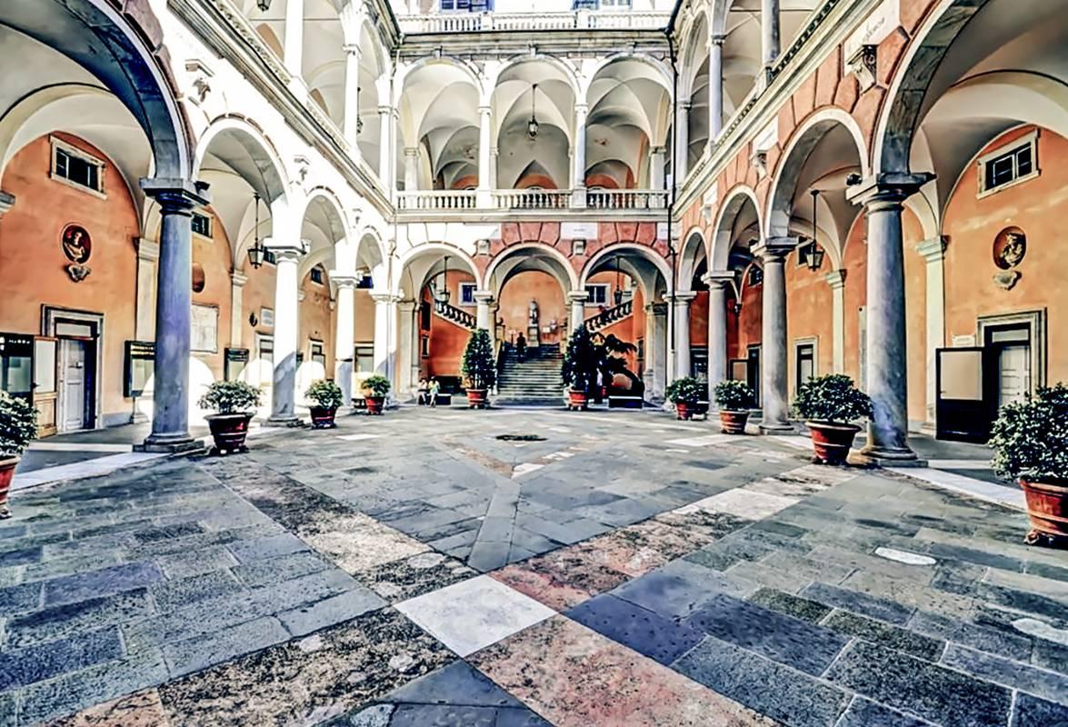 lc driver guide tour liguria guida ncc noleggio con conducente genova palazzo tursi
